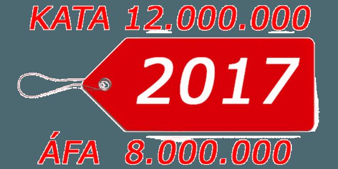 KÖNYVELŐZÓNA - KATA 2017 (kisadózó vállalkozások tételes adója)