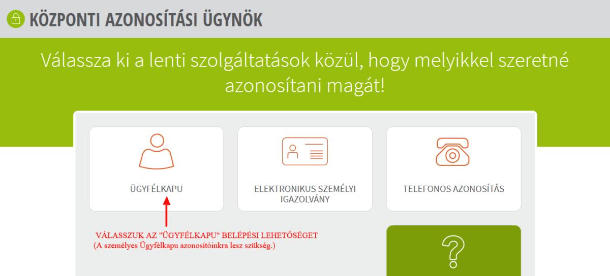 könyvelőzóna - Cégkapu regisztráció menete - útmutató segédlet (KAÜ)